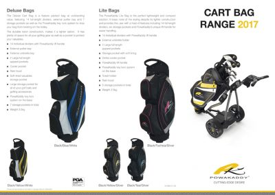 Powakaddy Bag Range 1